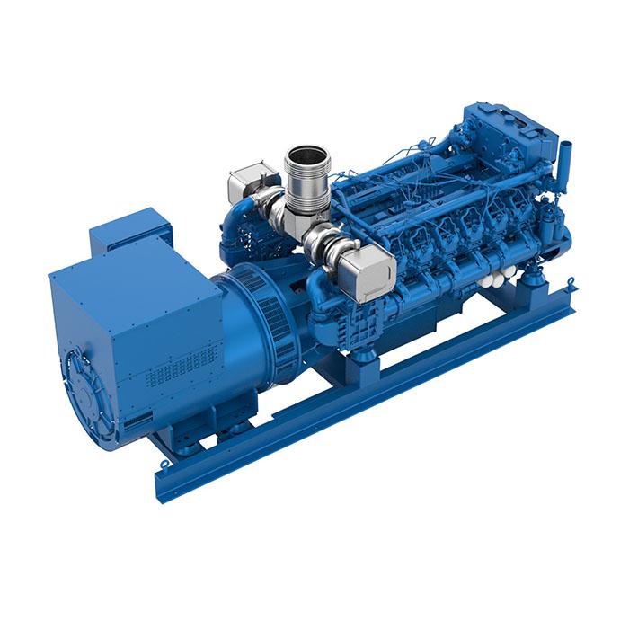 Baudouin 12M26.2 Marine Generator Set
