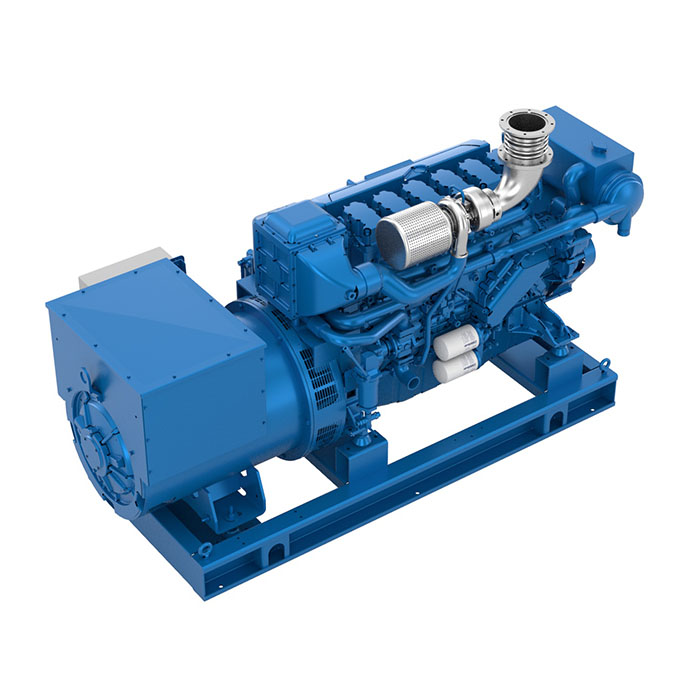 Baudouin 6W126S Marine Generator Set
