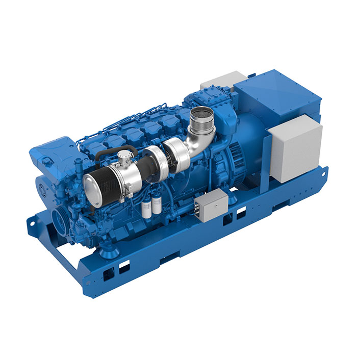 Baudouin 6M26.3 Marine Generator Set