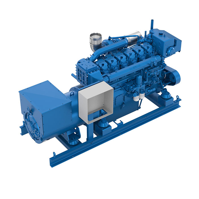 Baudouin 6W26.2 Marine Generator Set