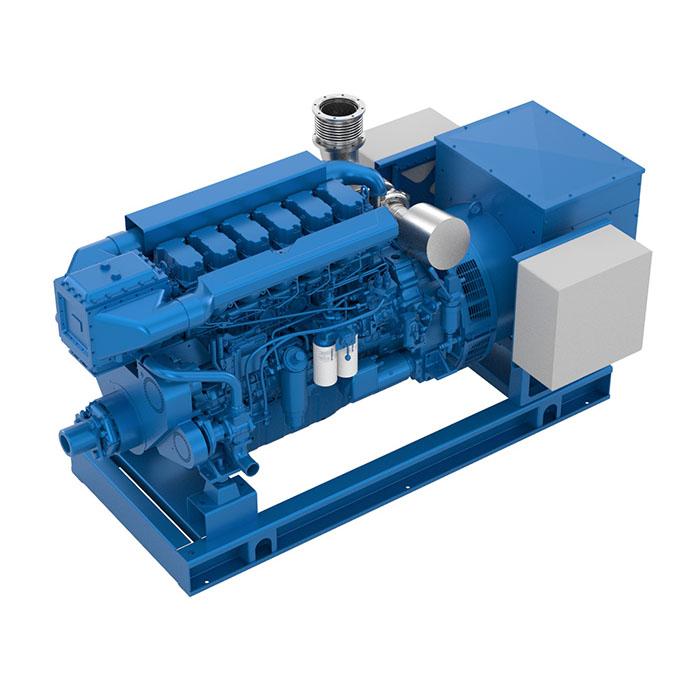 Baudouin 6W19.3 Marine Generator Set