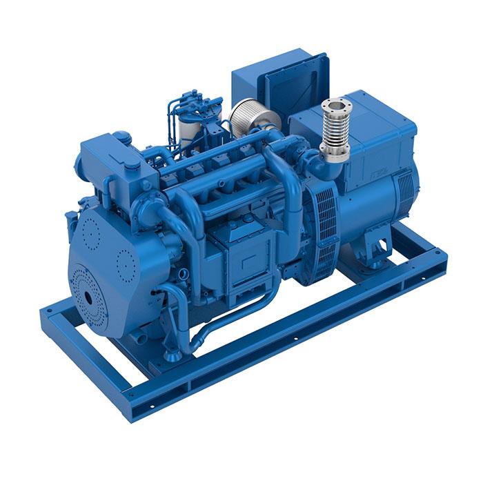Baudouin 4W105S Marine Generator Set