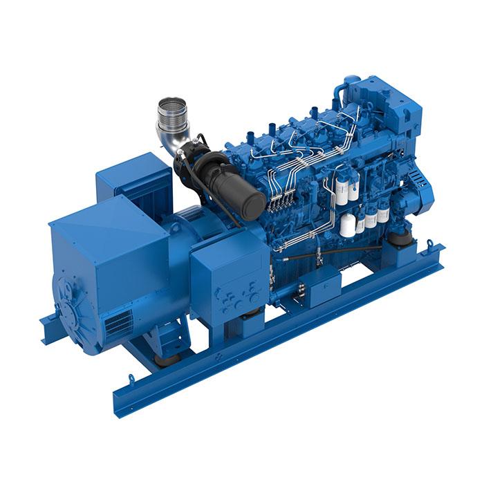 Baudouin 6M33.2 Marine Generator Set