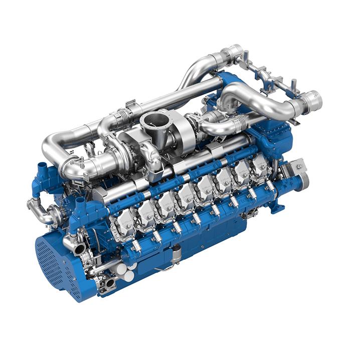 Baudouin 16M33 Gas Engine