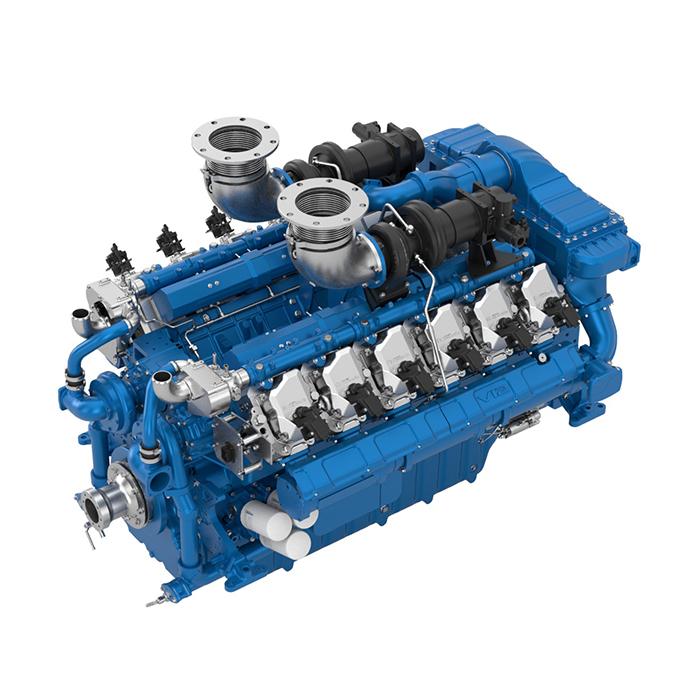 Baudouin 12M33 Gas Engine